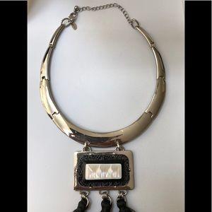 Chico's Jewelry - Chico's Silvertone statement Collar Necklace